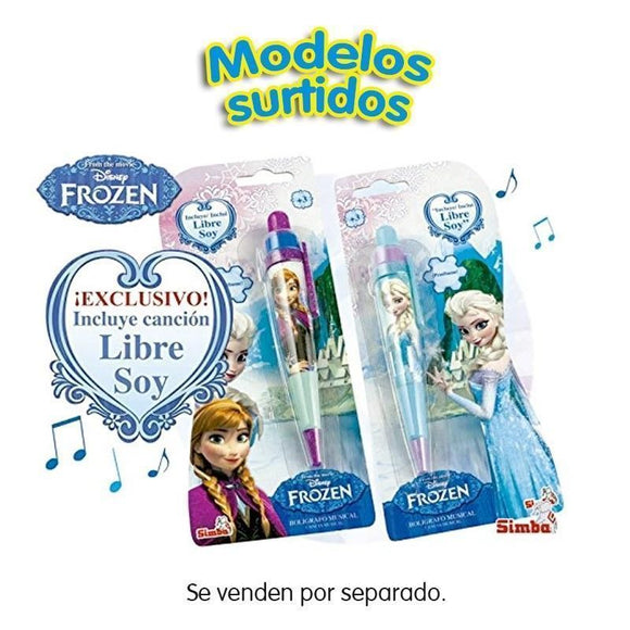 Disney Frozen Bolígrafo Musical