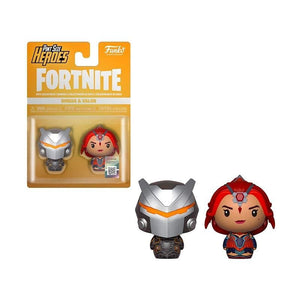 Funko Pop Fortnite Pack 2 Figuras Omega Y Valor