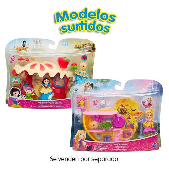 Princesas Disney Mini Playset Muñecas