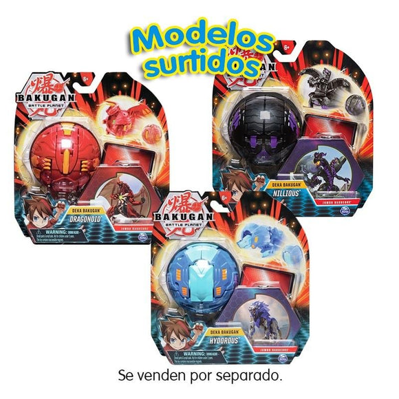 Bakugan Battle Planet Deka Bakugan Modelos Surtidos