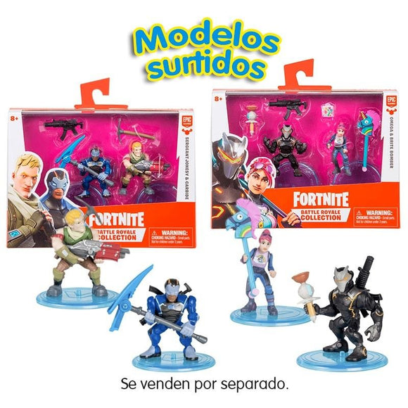 Fortnite Battle Royal Collection Pack De 2 Figuras