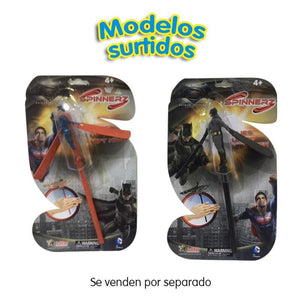 Flying Heroes Spinnerz Surtidas