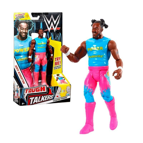 Wwe Figura Y Accesorio Tough Talkers