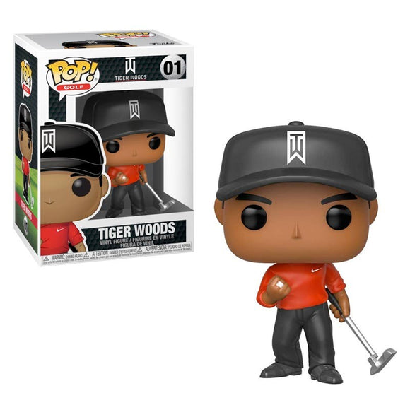 Funko Pop Tiger Woods Red Shirt