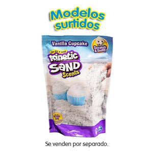 Kinetic Sand Scents 8Oz Ast S20