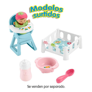 Fisher Price Little People Playsets Bebés (Dos Modelos Diferentes)