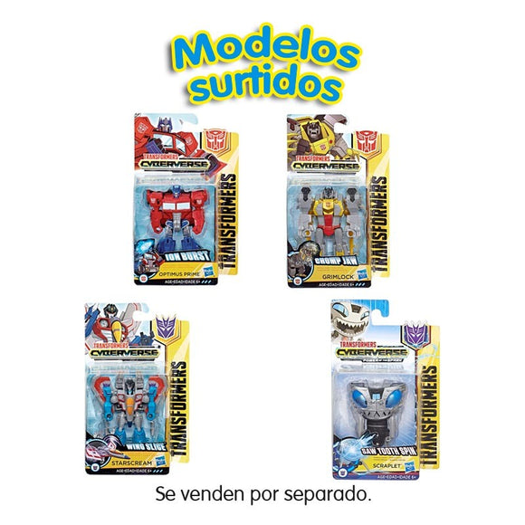 Transformers Cyberverse Scout Class (Varios Modelos)