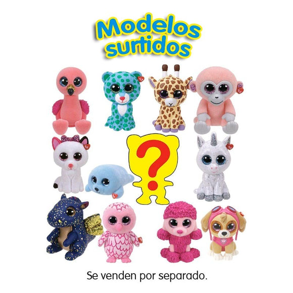 Ty Beanie Boos Mini Peluches Coleccionables (Varios Modelos)