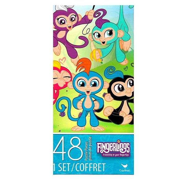 Fingerlings Puzle Torre 48 Piezas
