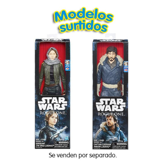 Star Wars Episodio Vii Hero Series Figuras 30 Cm