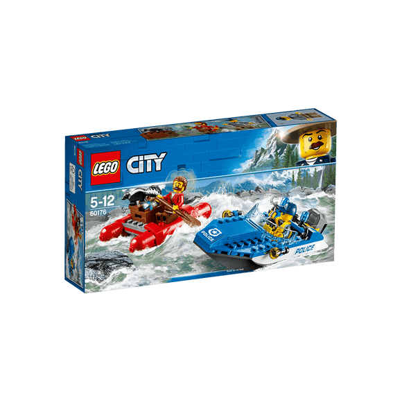 Lego City Huida Por Aguas Salvajes