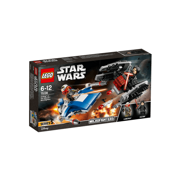 Lego Star Wars Microfighters: Ala-A Vs Silenciador Tie