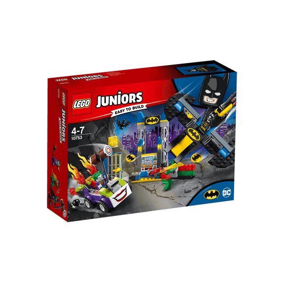 Lego Juniors Ataque De The Joker™ A La Batcueva