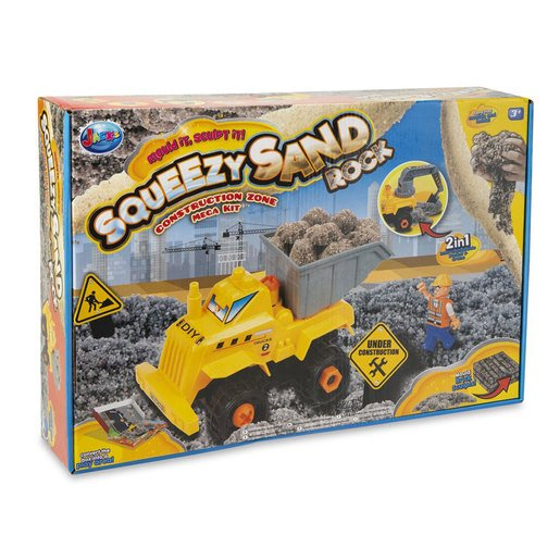Squeezy Sand Rock Set