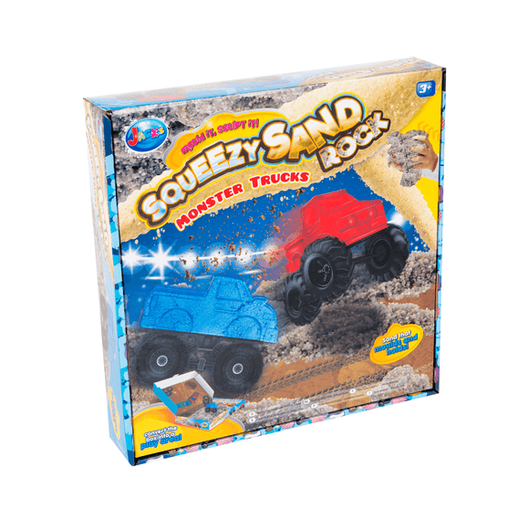 Jacks Squeezy Sand Rocks Monster Trucks