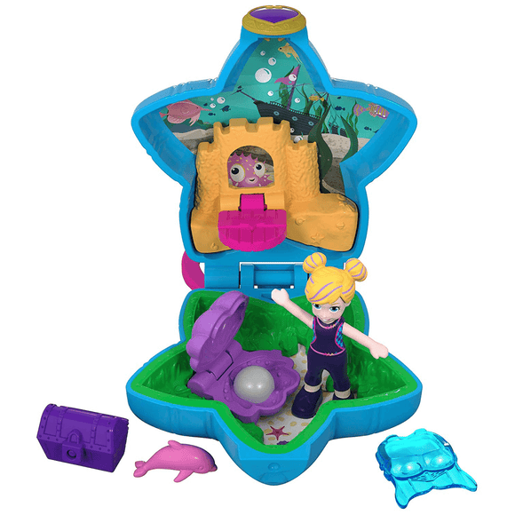 Polly Pocket Mini Cofre Acuario