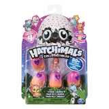 Hatchimals Coleccionables S4 Pack De 4 + Bonus
