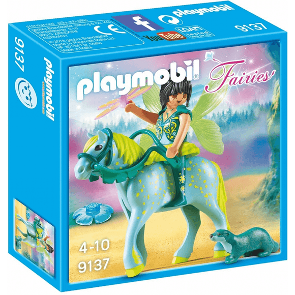 Playmobil Fairies Hada Con Caballo