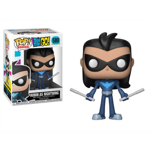 Funko Pop Teen Titans Go Robin As Nightwing