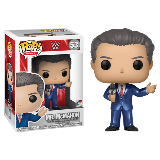 Funko Pop Wwe Mr Mcmahon
