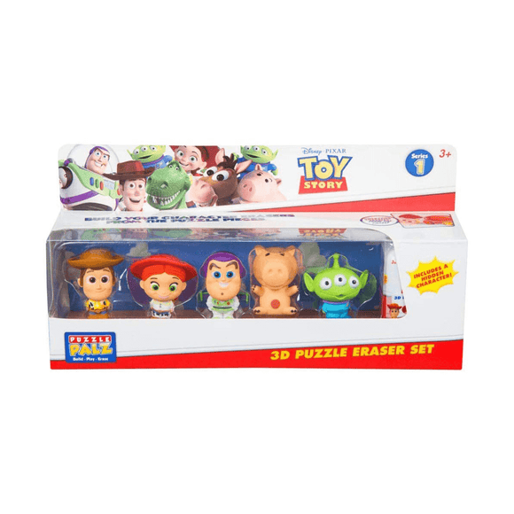Toy Story Pack De 6 Gomas De Borrar