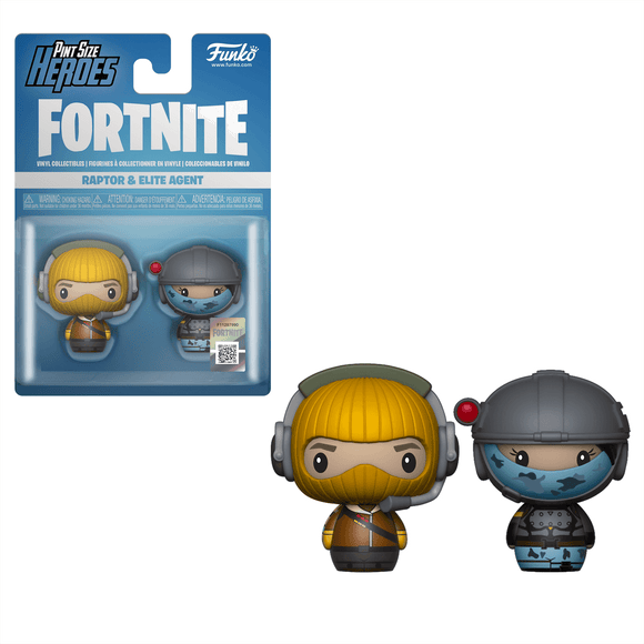 Funko Pop Fortnite Pack 2 Figuras Raptor Y Agente Elite