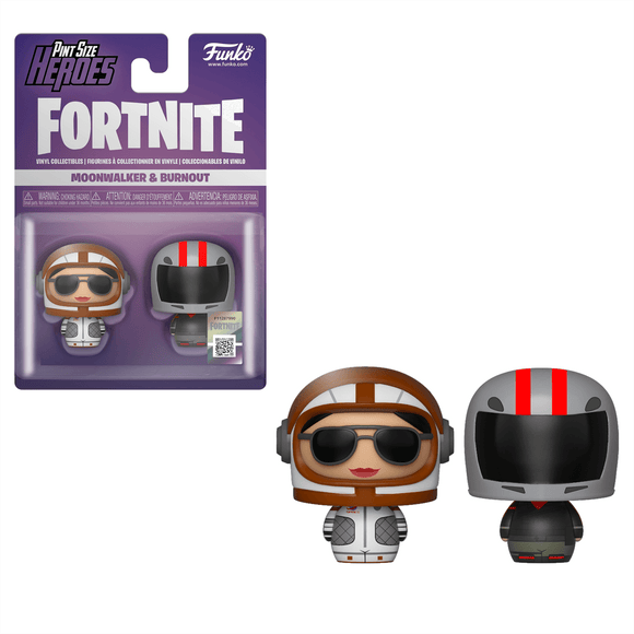 Funko Pop Fortnite Pack 2 Figuras Moonwalker Y Burnout