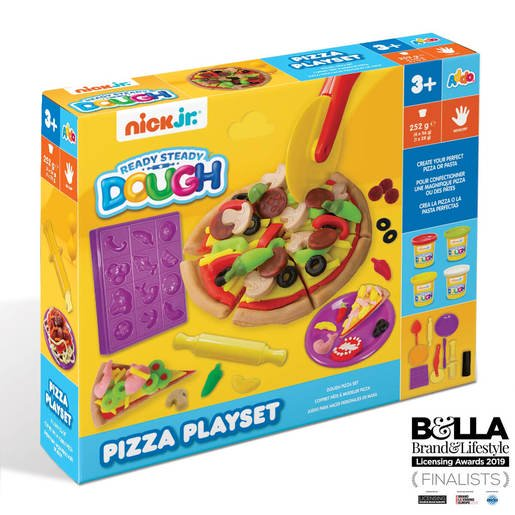 Ready Steady Dough Pizza Playset