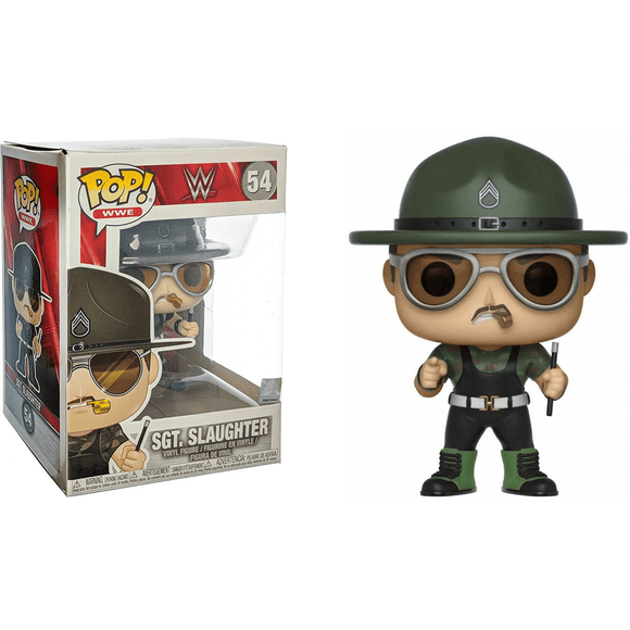 Funko Pop Wwe Sargento Slaughter
