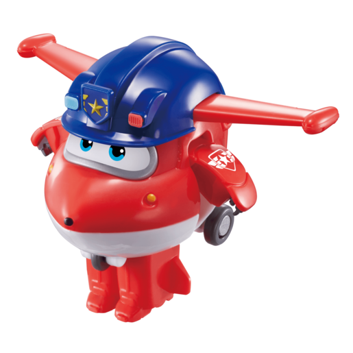 Super Wings Vehículo Transformable Police Jett