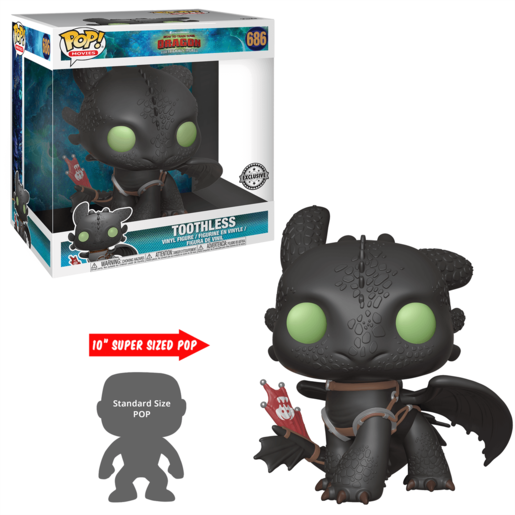 Funko Pop How To Train Your Dragon Toothless 25 Cm