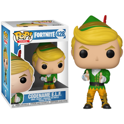 Funko Pop Fortnite Codename E.L.F.