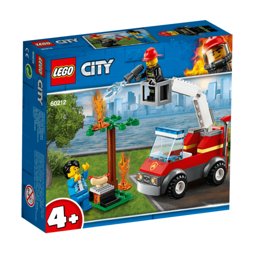 Lego City Incendio En La Barbacoa