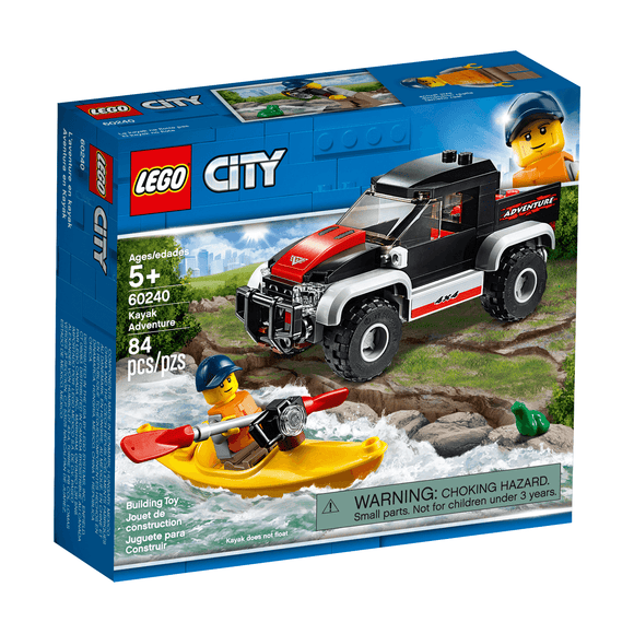 Lego City Aventura En Kayak