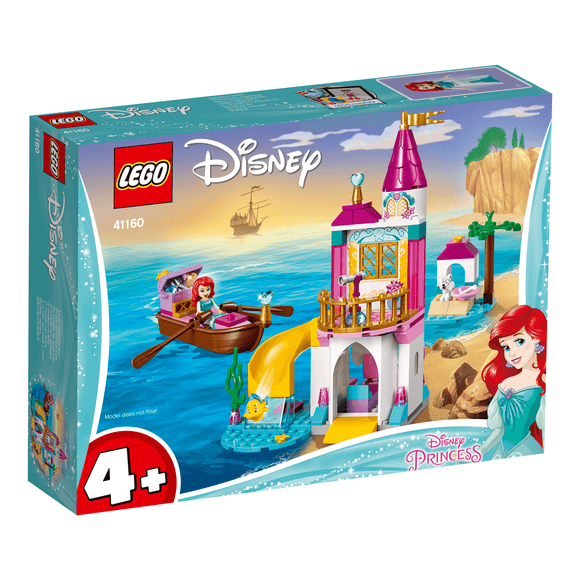Lego Disney Princess Castillo Costa Ariel