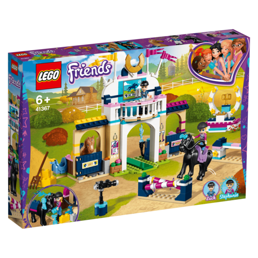 Lego Friends Concurso De Saltos Stephanie