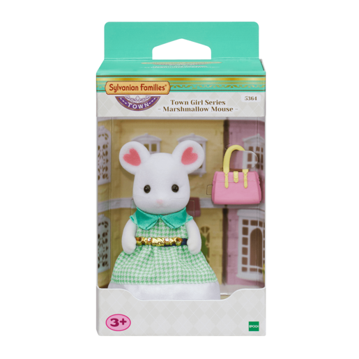 Sylvanian Town Girls Series Marshmallow Mouse