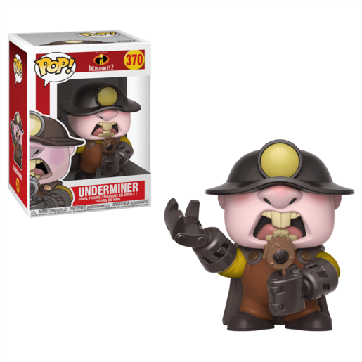 Funko Pop Disney Pixar Los Increibles 2 Underminer
