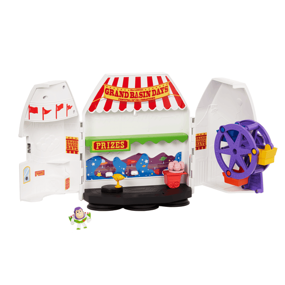 Toy Story 4 Mini Playset Buzz Lightyear Aventurero De Las Estrellas