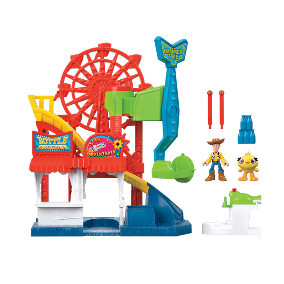 Disney Pixar Toy Story 4 Imaginext Playset Carnaval