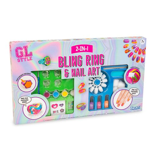Bling Ring & Nail Art Set