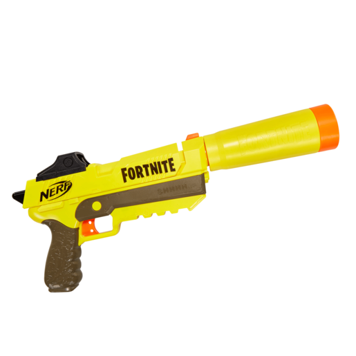Fortnite Sp-L Nerf Elite Dart Blaster Con Cañón Desmontable