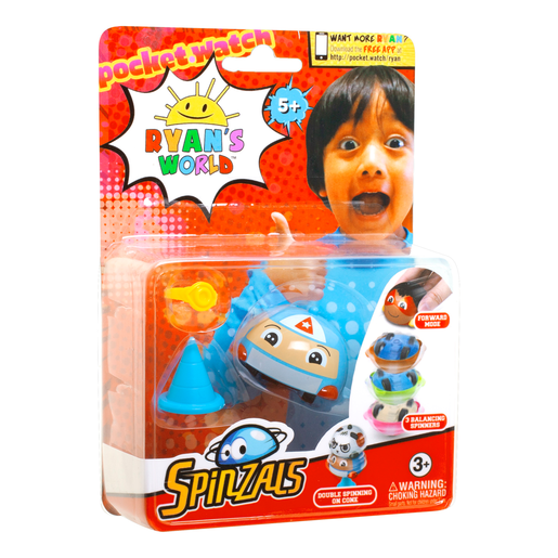 Ryan'S World Spinzals Pack De 1
