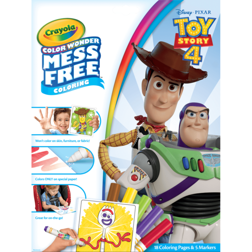 Disney Pixar Toy Story 4 Crayola Color Wonder