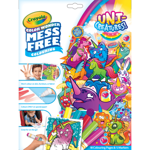 Uni-Creatures! Crayola Color Wonder