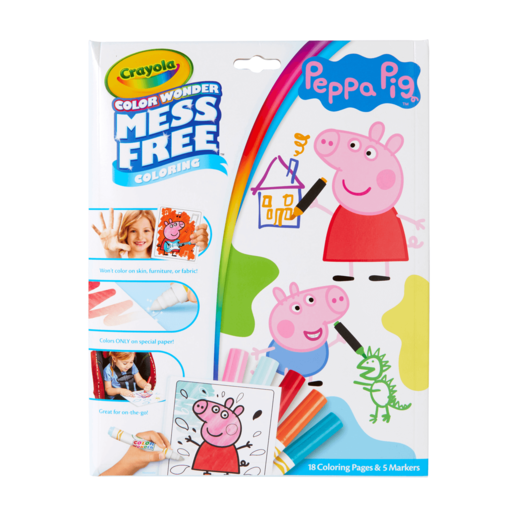 Peppa Pig Crayola Color Wonder