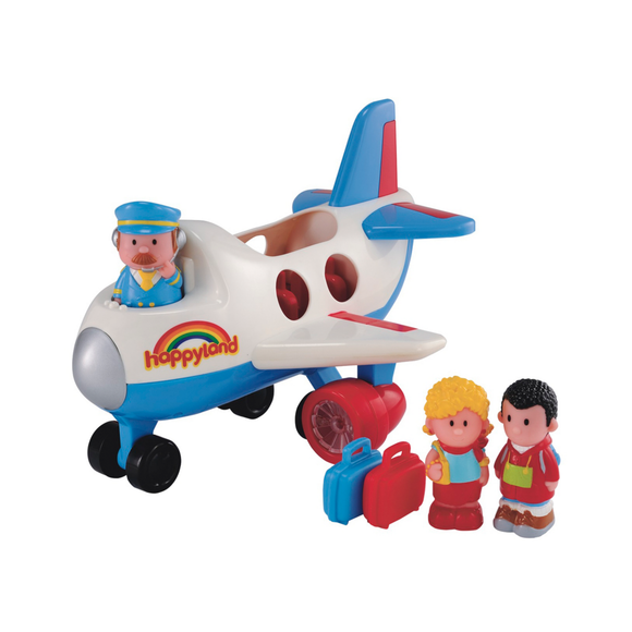Early Learning Centre Happyland Avión Jumbo De Pasajeros