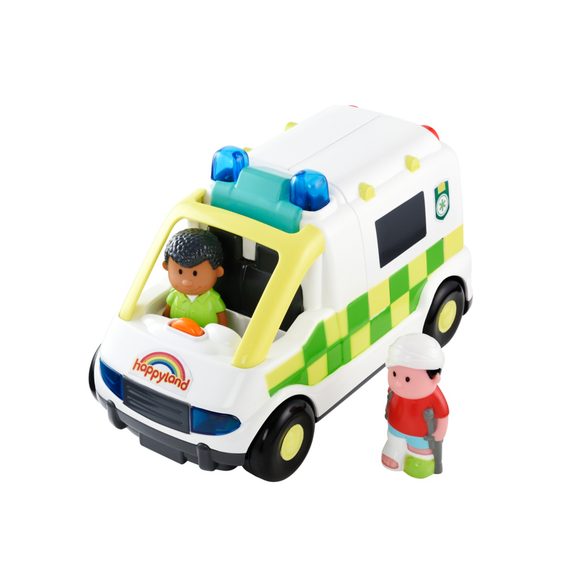 Early Learning Centre Happyland Ambulancia Luces Y Sonidos