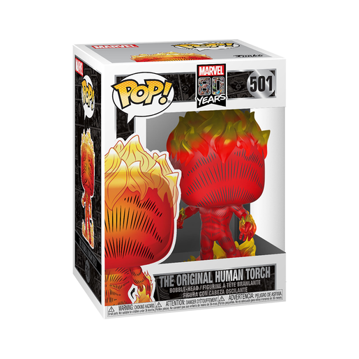 Funko Pop Marvel 80Th Ani The Original Human Torch