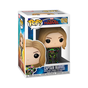 Funko Pop Marvel Capitana Marvel Neon